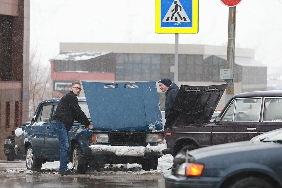 В Красноярске потеплеет только к концу выходных