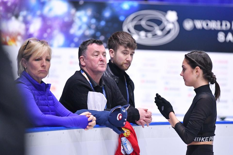 Фигуристка Евгения Медведева второй сезон работает с Брайаном Орсером.