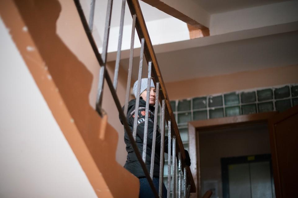 Женщина с младенцем просто хотела покоя в собственной квартире