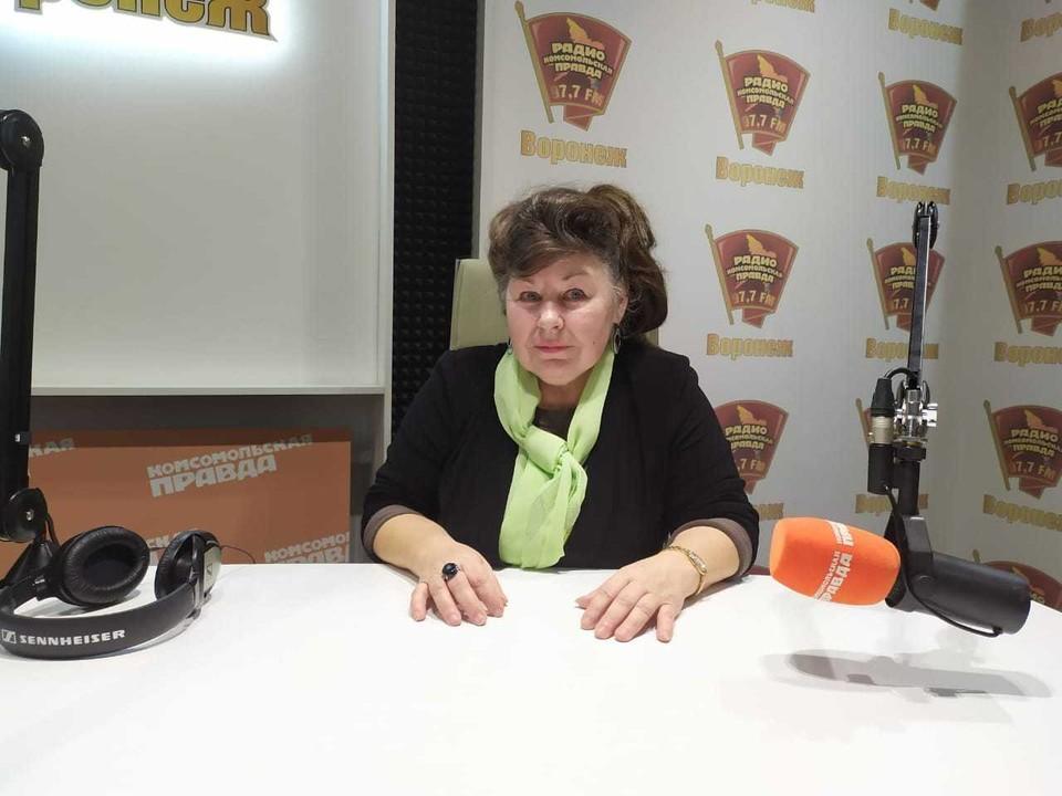 Людмила Кольцова.