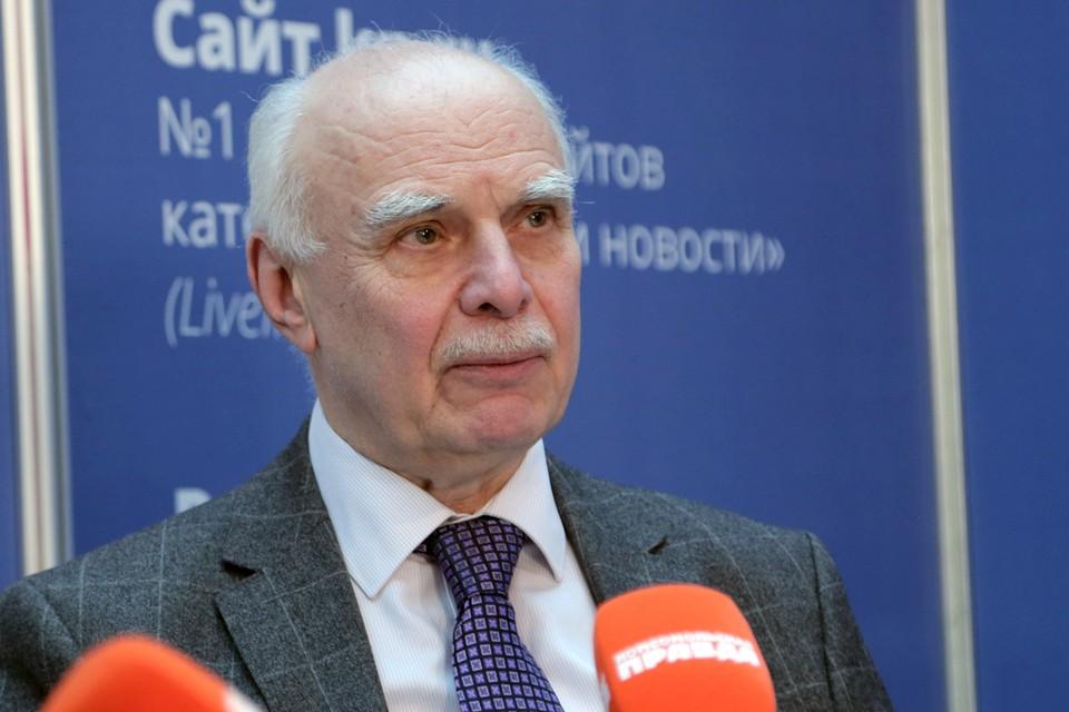 Cоветник генерального директора Центрального научно-исследовательского автомобильного и автомоторного института Борис Кисуленко.