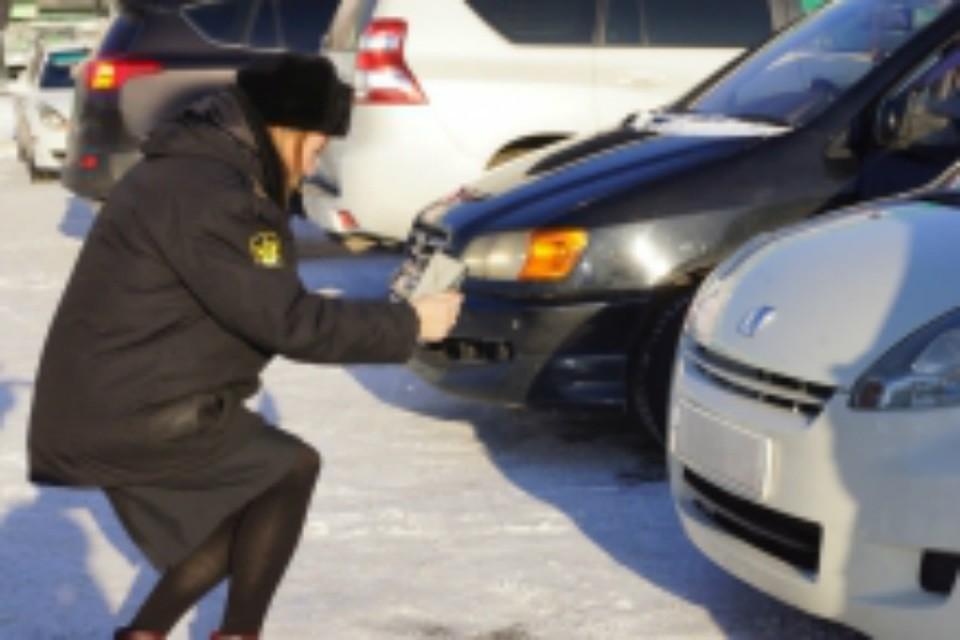 «Дорожный пристав» вычисляет должников в Хабаровском крае на «раз-два»