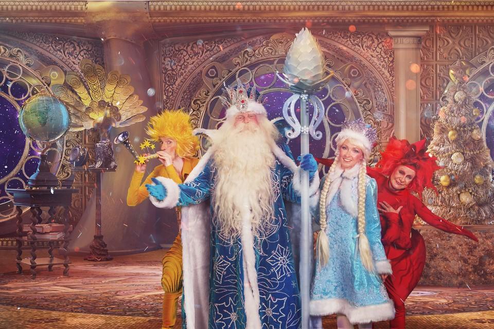 Юбилейная ёлка в Крокусе «День рождения Деда Мороза» пройдёт с 21 декабря 2019 года по 7 января 2020 года в «Крокус Сити Холле». Фото: предоставлено пресс-службой