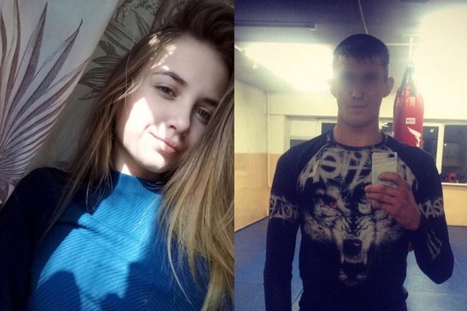 Фото: личные страницы погибшей и подозреваемого.