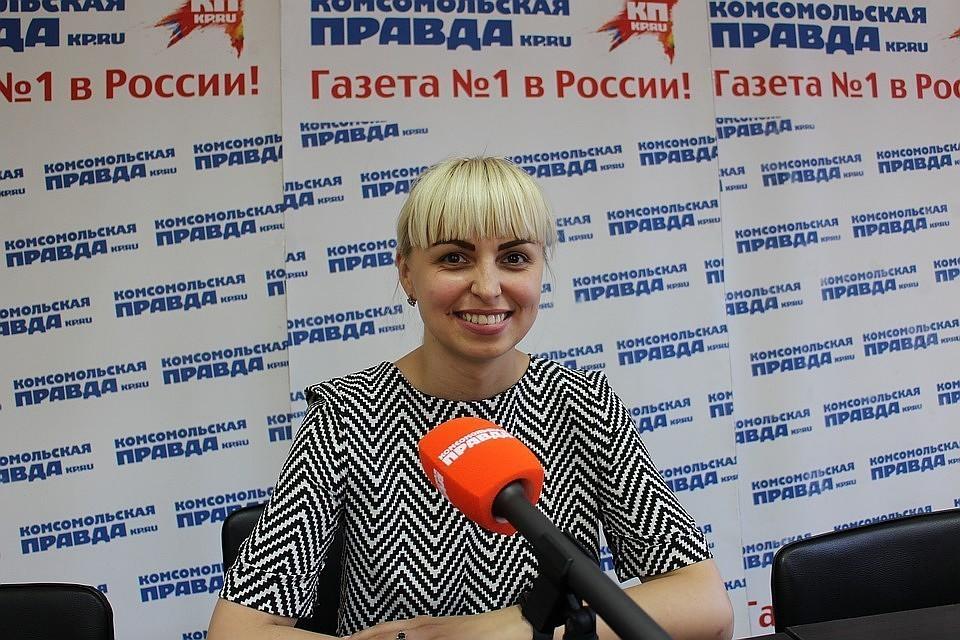 Анастасия Гридчина - частый гость в студии КП