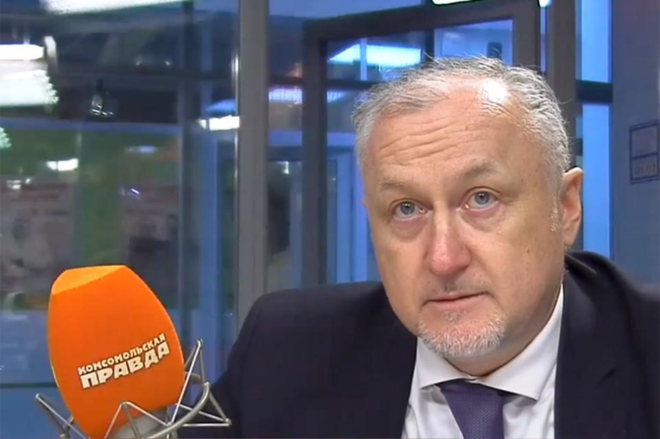 Глава РУСАДА Юрий Ганус в гостях у Радио «Комсомольская правда».