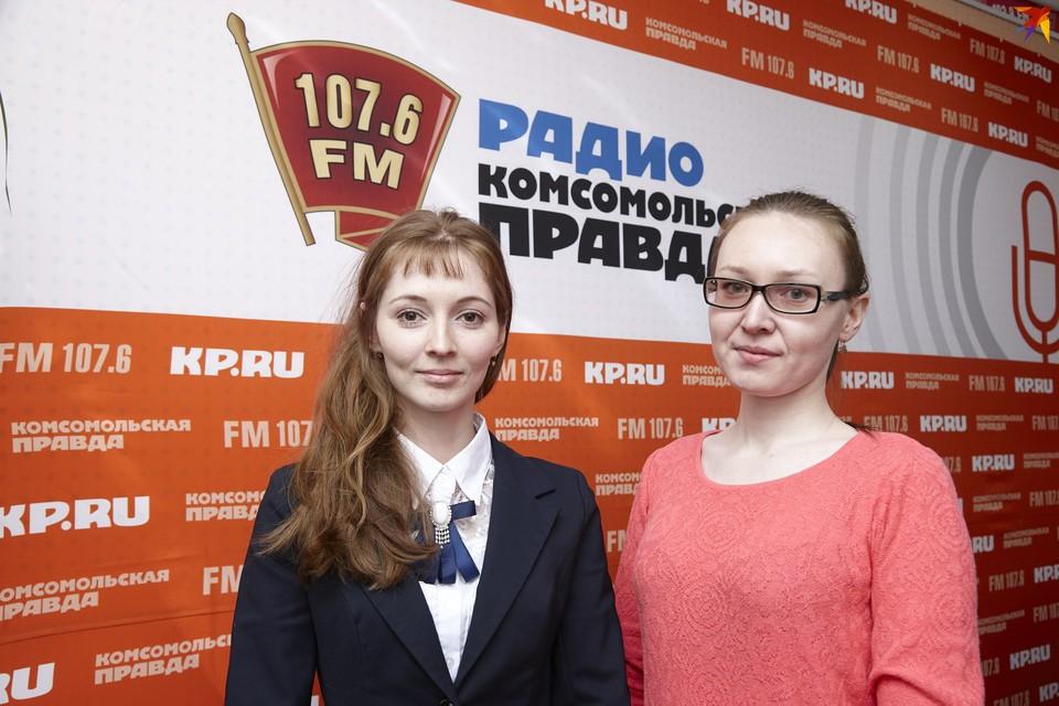 Светлана Максимова и Виктория Чазова