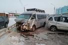 Крупное ДТП с участием трех машин произошло в Якутске