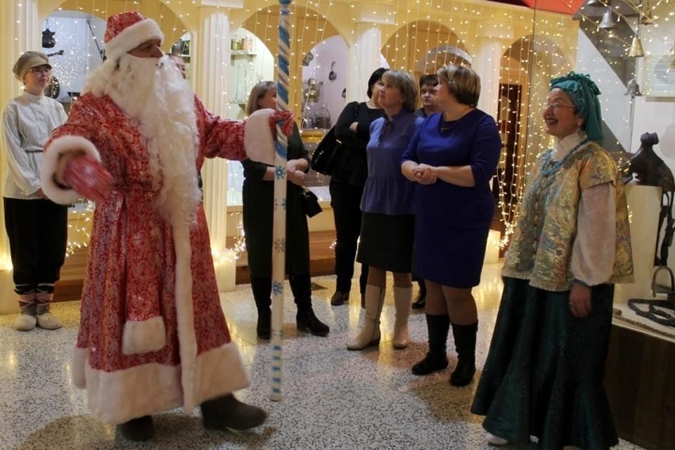 Демидовская ёлка традиционно проходит в музее в канун Нового года. Фото: официальное сообщество Невьянского музея Вконтакте