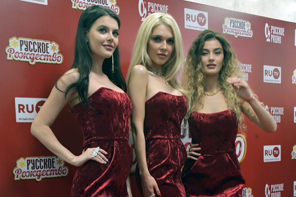 «ВИА Гра» на концерте «Русское Рождество»