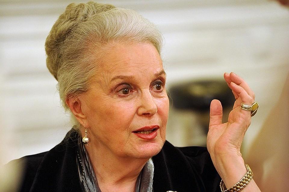 Актриса Элина Быстрицкая скончалась на 92 году жизни.