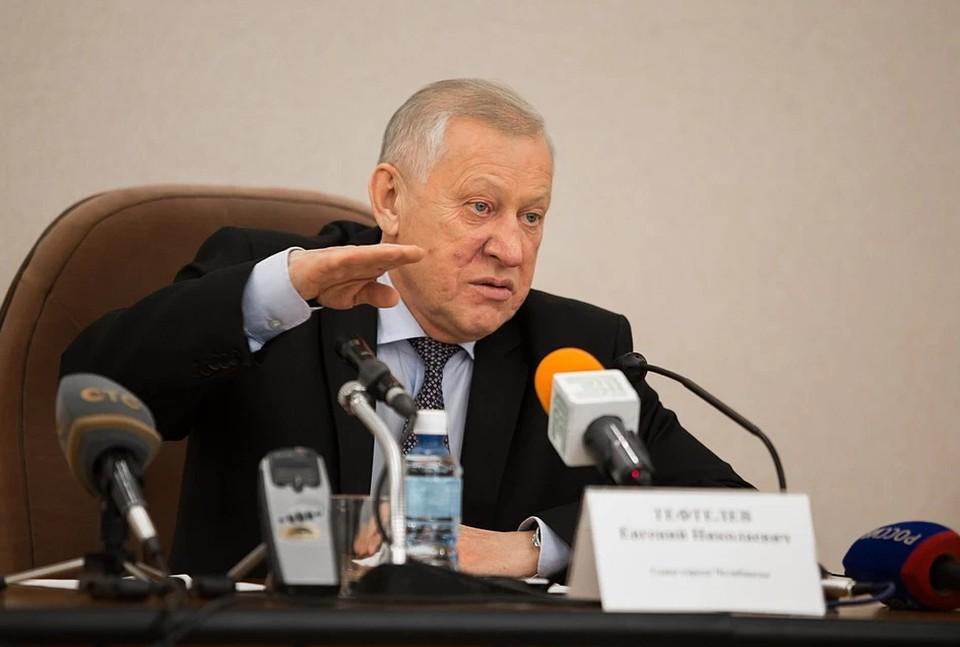 Евгений Тефтелев задержан в Магнитогорске.