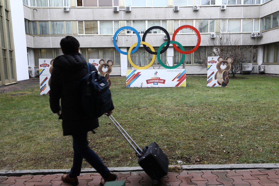 Здание Олимпийского комитета России. Фото: Михаил Терещенко/ТАСС
