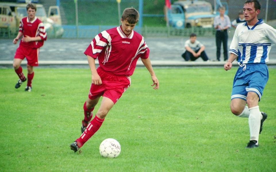 Дмитрий Сычев играл за Тамбов в 2000-2001 годах