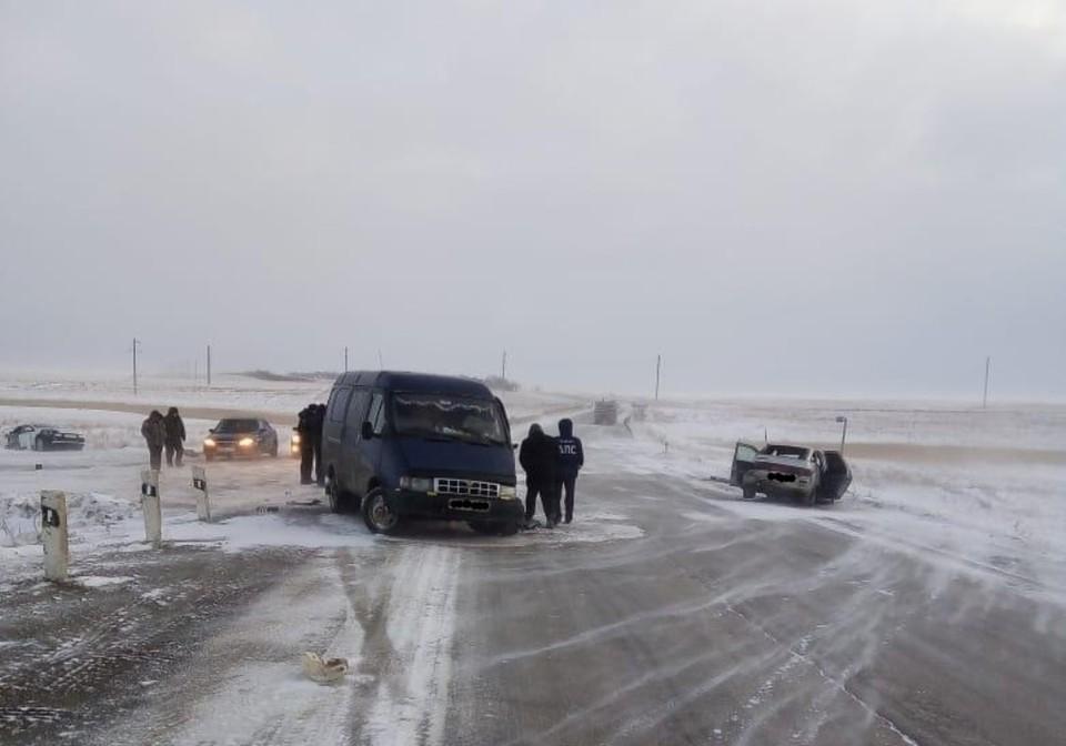 Под Варной в ДТП пострадал ребенок. Фото: пресс-служба ГИБДД по Челябинской области.