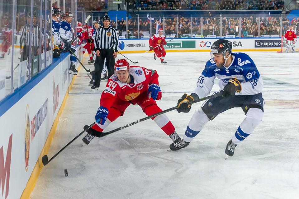 Прогноз на матч Кубка Первого канала по хоккею Россия – Финляндия.