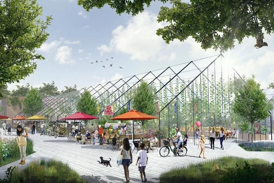 Таврический сад станет многофункциональным общественным пространством. Фото: Wowhaus для Ginza Project