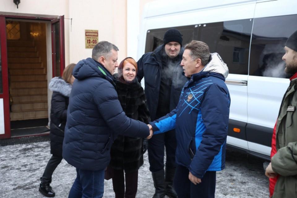 Игорь Кобзев: Критика в адрес властей Иркутской области была часто оправдана. Фото пресс-службы ОНФ