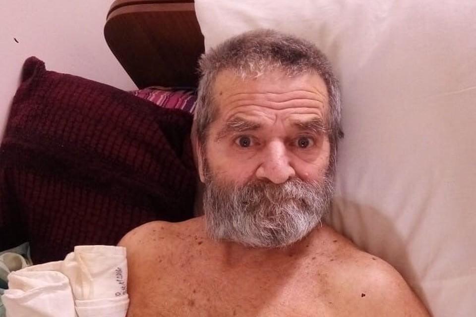 Неизвестный мужчина уже три года живет в больнице. Фото: ГКУ «Севастопольский городской комплексный центр социального обслуживания»