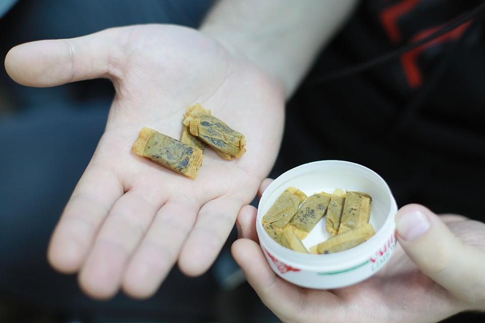 Бестабачная никотиновая смесь можно купить в любом магазине