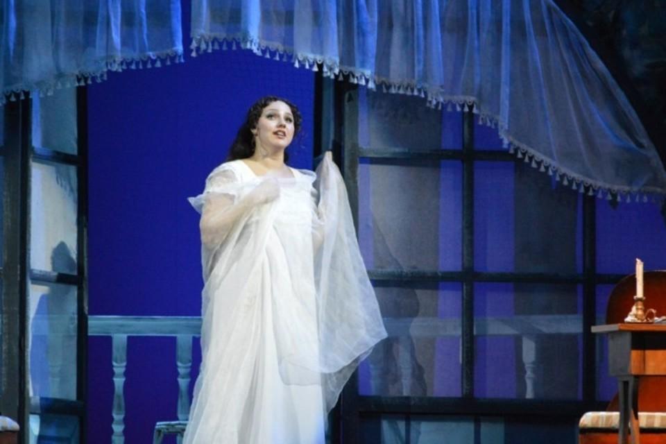 Солистка исполнила два отрывка из опер. Фото: vk Анна Шаповалова
