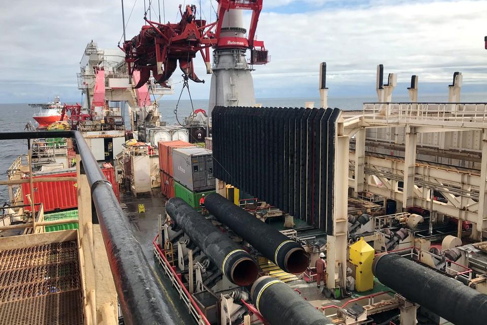 До 21 декабря три судна Allseas в авральном порядке пытались закончить работу над российским газопроводом.