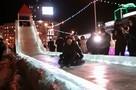 На открытии ледового городка в Челябинске мэр Наталья Котова скатилась с горки