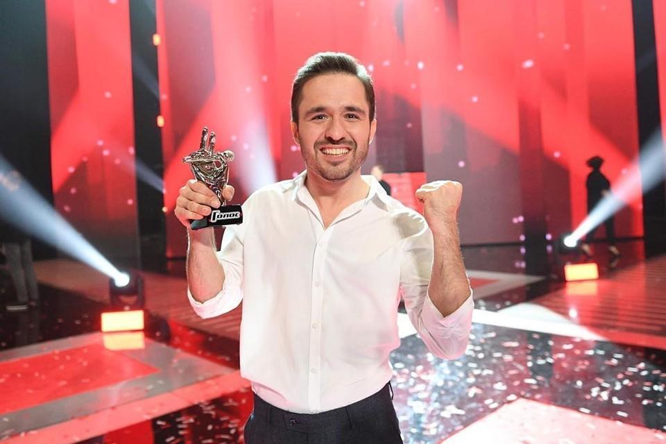 Победитель шоу «Голос-8» Аскер Бербеков. Фото: Максим ли