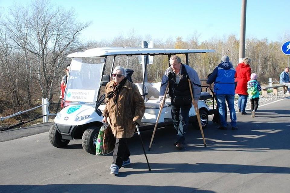 В поездки за украинской пенсией каждый месяц отправляются десятки тысяч инвалидов из республик Донбасса. Фото: Фейсбук/Евгений КАПЛИН