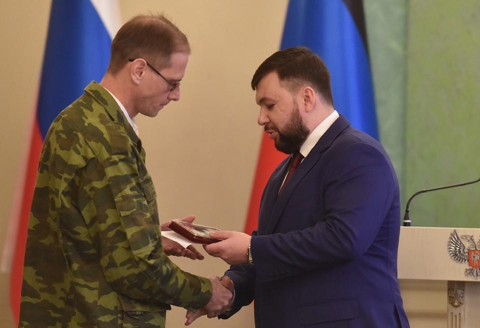 За мужество и отвагу награждены как действующие военнослужащие, так и те, кто уже на гражданке. Фото glavadnr.ru