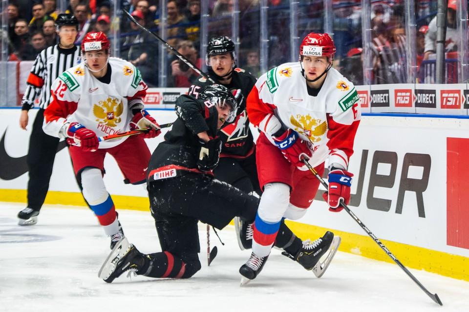 Россия сыграла с Канадой в финале молодежного чемпионата мира 2020.
