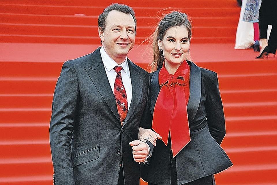 Марата Башарова с экс-женой Лизой