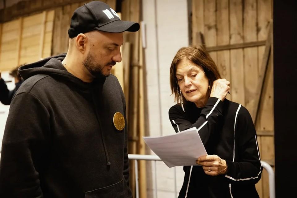 Кирилл Серебренников и Ангела Винклер. Фото: Ира Полярная