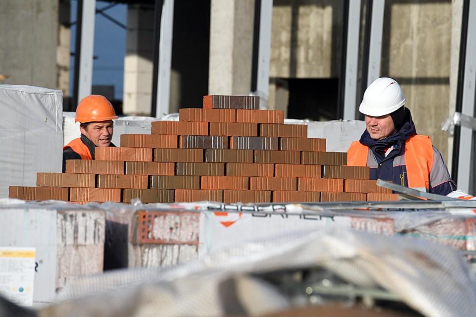 Самыми высокооплачиваемыми в стране стали строители