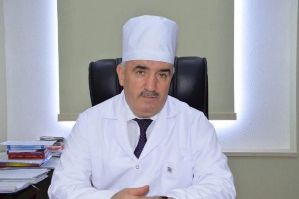 Меджид Алиев. Фото: Минздрав Дагестан