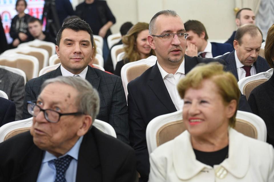 Александр Рогоза и Михаил Антонов получили премию мэра Москвы.