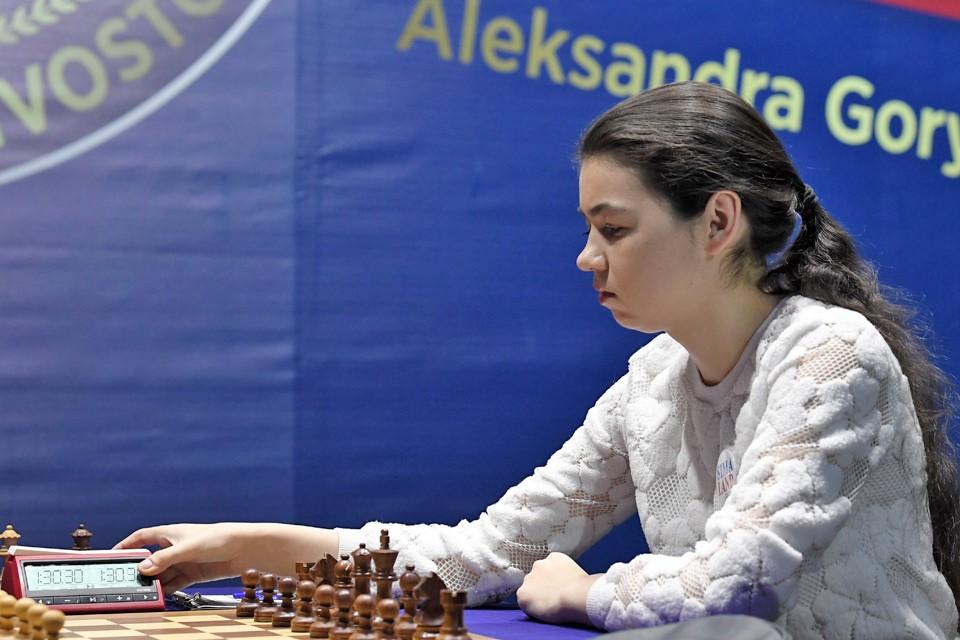 Российская шахматистка Александра Горячкина. Фото: Юрий Смитюк/ТАСС