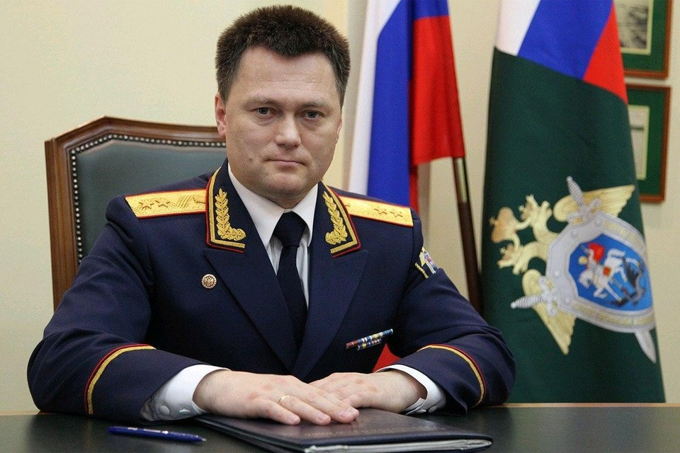 Замглавы Следственного комитета РФ Игорь Краснов