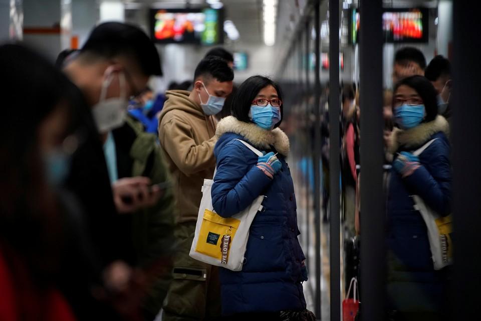 В китае усилены меры безопасности, проводятся проверки и дезинфекция
