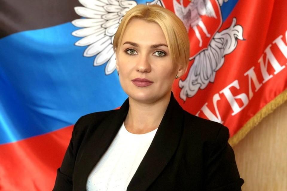 Дарья Морозова не видит проблем в проведении встречи двух омбудсменов. Фото: Сайт омбудсмена ДНР