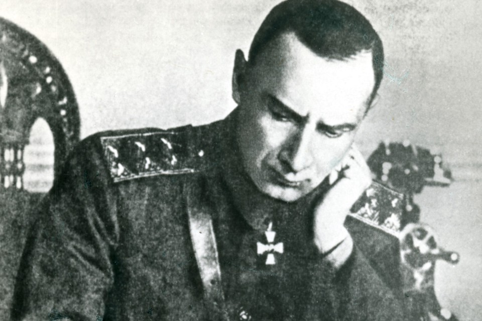 Александр Колчак в 1919 году.