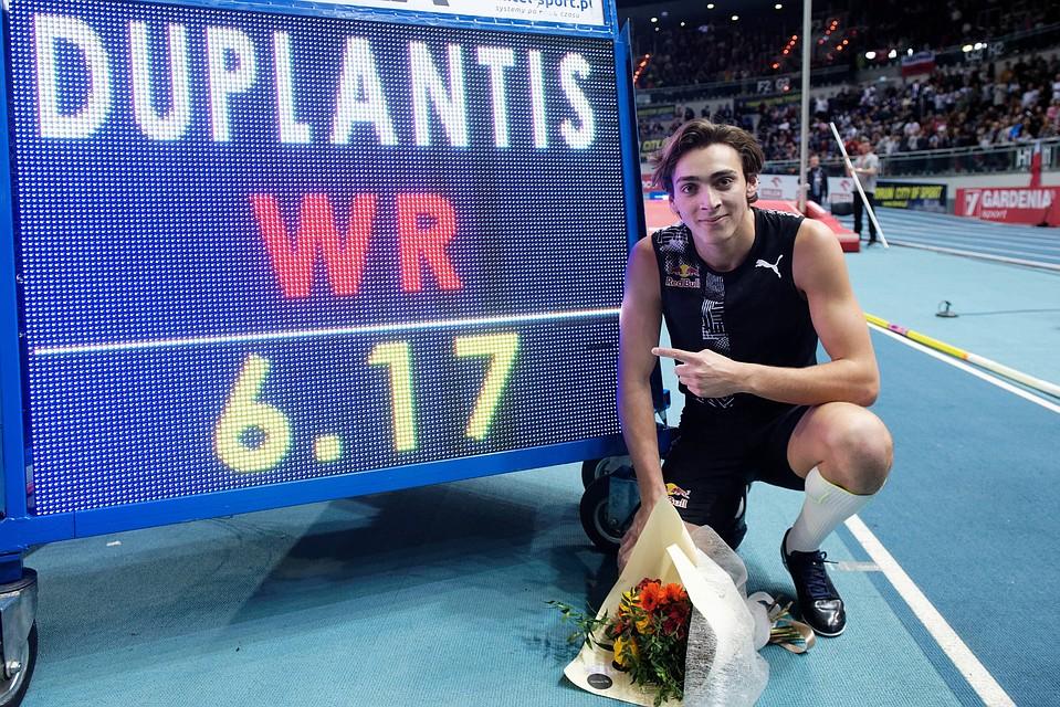 20-летний швед Арман Дюплантис прыгнул выше мирового рекорда Сергея Бубки в прыжках с шестом
