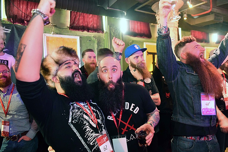 Конкурс Beard & Moustache Competition — 2020