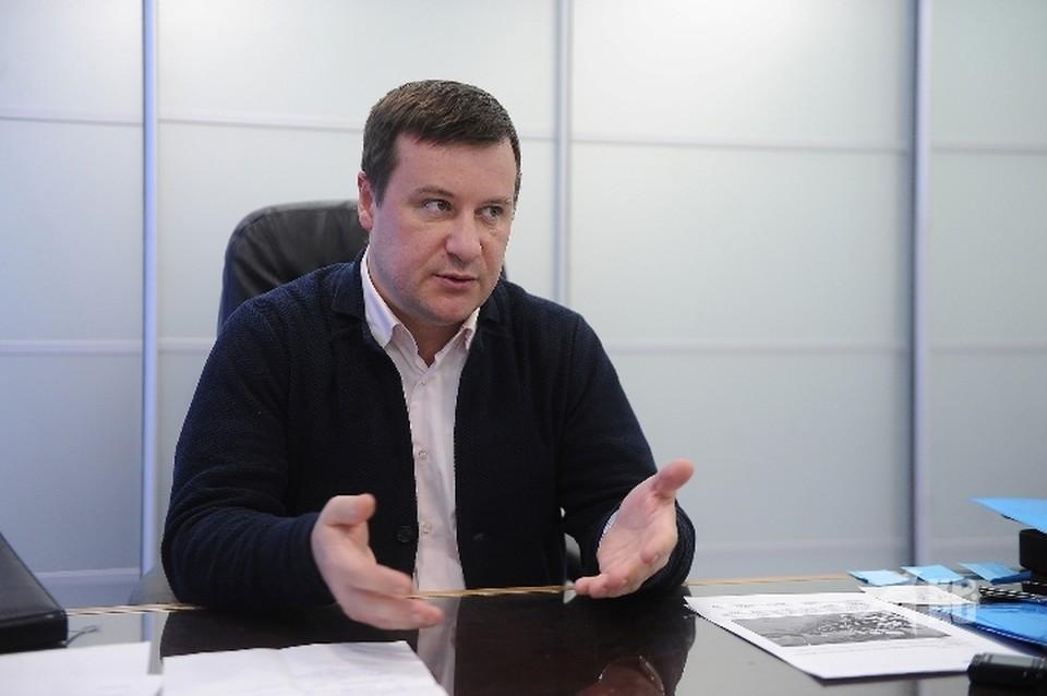 Директор «Балтымского АгроКомплекса» Константин Кремко