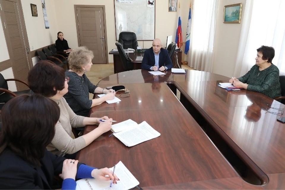 ФОТО: пресс-служба Заксобрания Иркутской области.