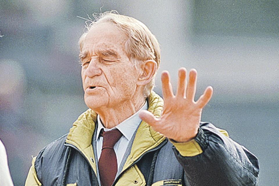Н. П. Старостин: «Футбол - это жизнь...». Фото:. Игорь УТКИН/ТАСС
