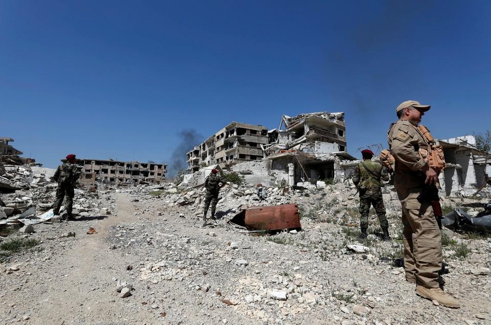 Боевики напали на позиции сирийских войск