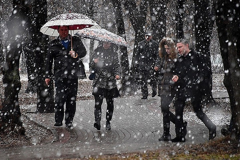 Синоптики прогнозируют ухудшение погоды в Москве в воскресенье, 23 февраля
