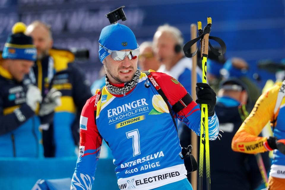 У биатлониста Александра Логинова изъяли личные вещи