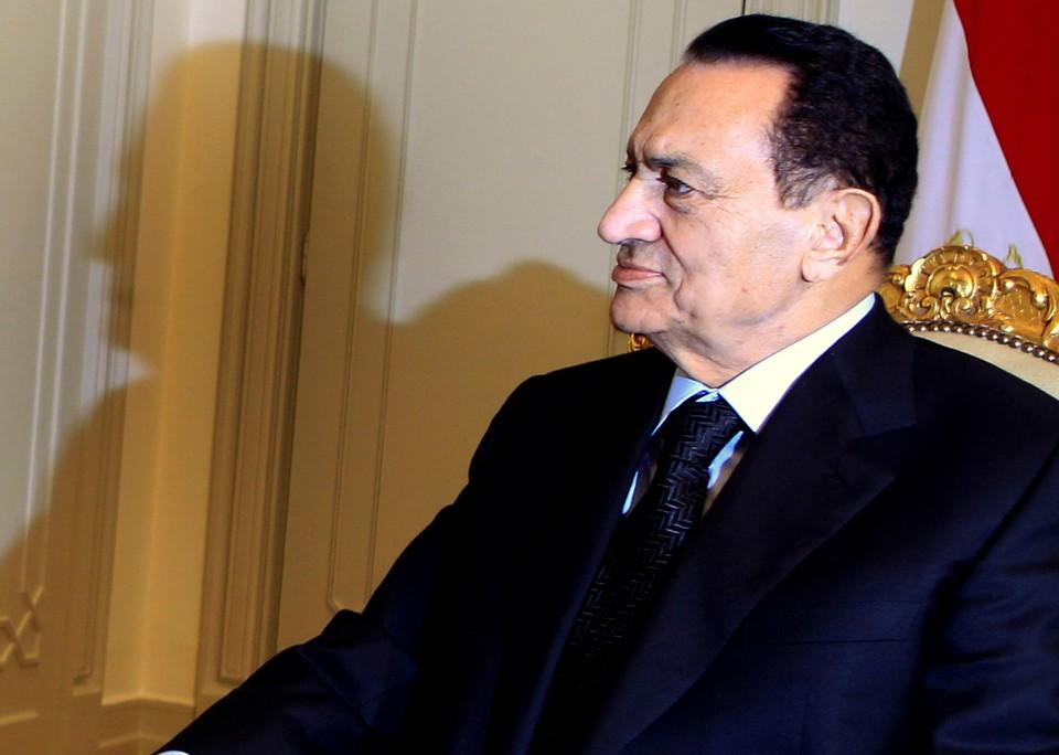 Хосни Мубарак в 2010 году.